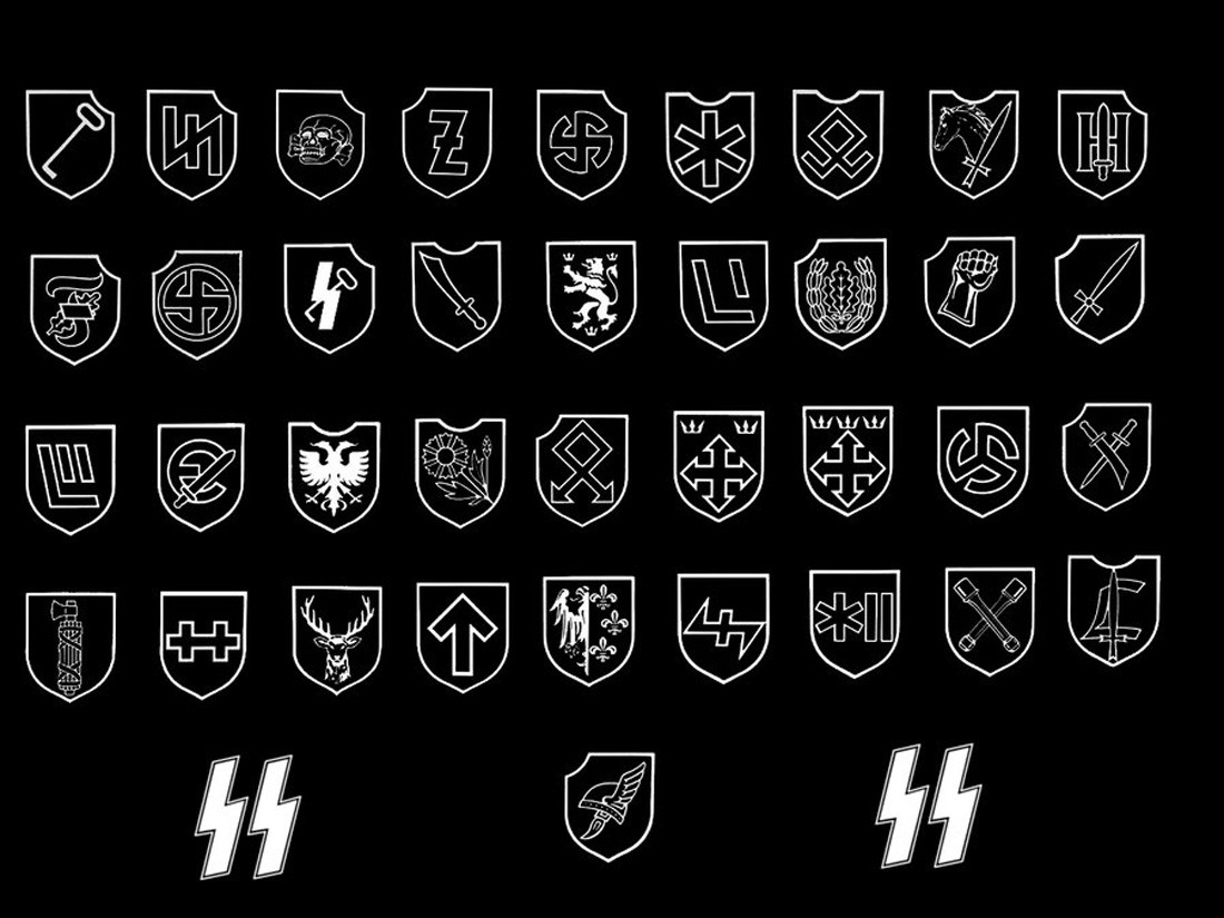 The history of the waffen ss true history divisions of the waffen ss biocorpaavc Image collections